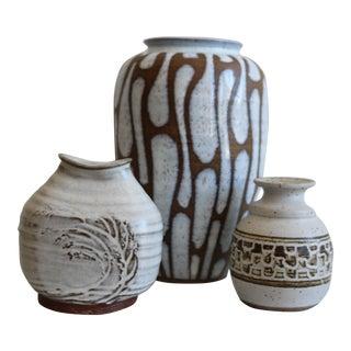 Studio Pottery Vases - 3