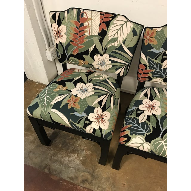 James Mont Inspired Side Chairs - A Pair - Image 4 of 9