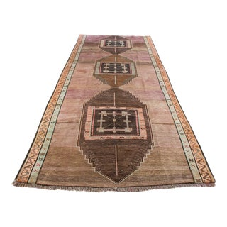Hand Knotted Turkish Kars Rug - 5′9″ × 13′11″