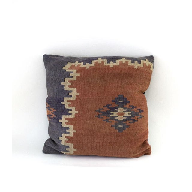 Vintage Kilim Pillow Covers - A Pair - Image 2 of 4