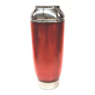 Atomic Red Milkshake-Style Cocktail Shaker