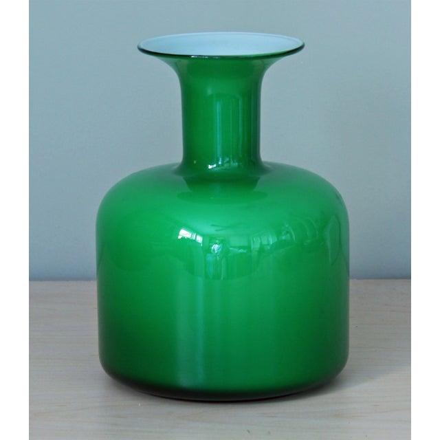 Image of Green Holmegaard Glass Vase