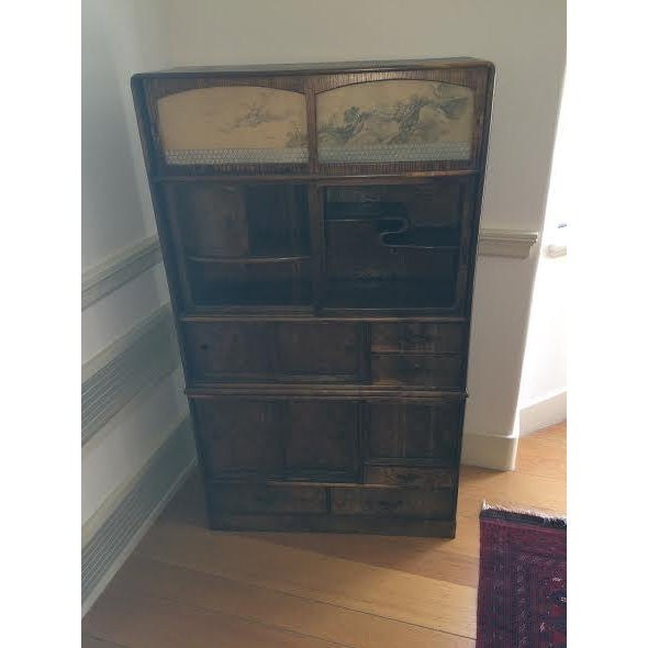 Antique Japanese Cabinet - Image 6 of 6
