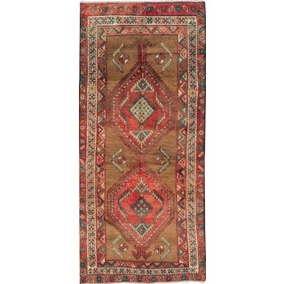 "Apadana Vintage Hand Knotted Persian Rug - 3'5"" X 7'2"""