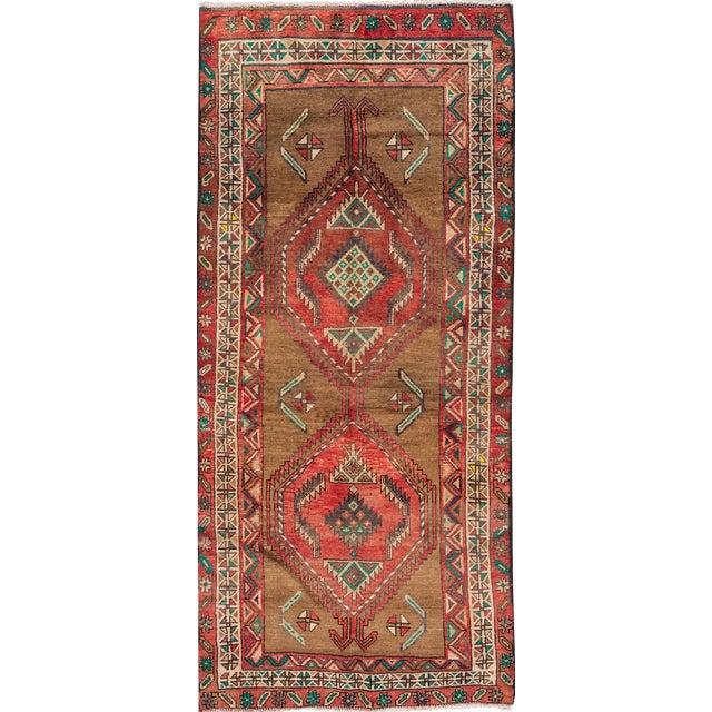 "Image of Apadana Vintage Hand Knotted Persian Rug - 3'5"" X 7'2"""