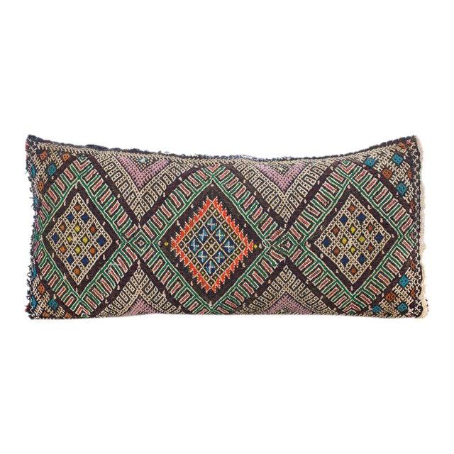 Moroccan Berber Wool Pillow - Image 1 of 3