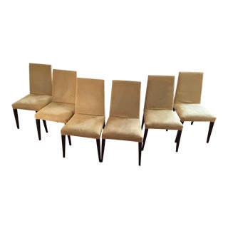 Madera Suede Dining Chairs - Set of 6