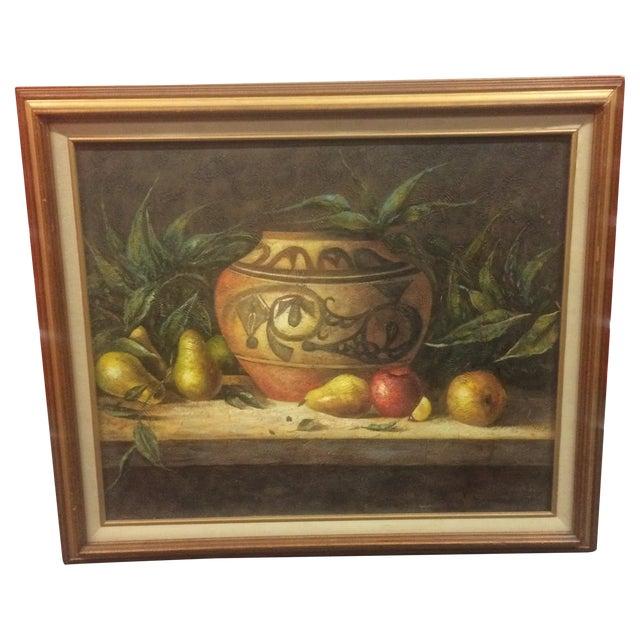 R. Wesley Original Oil Painting - Image 1 of 7