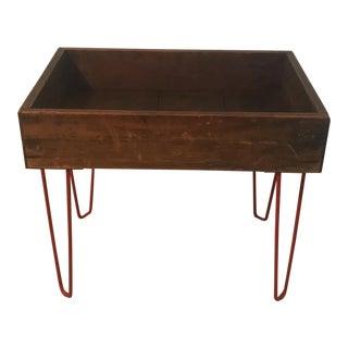 Hairpin Leg Tray Table