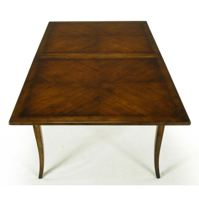 Old Colony Furniture Walnut Flip Top Games Table - Image 4 of 10
