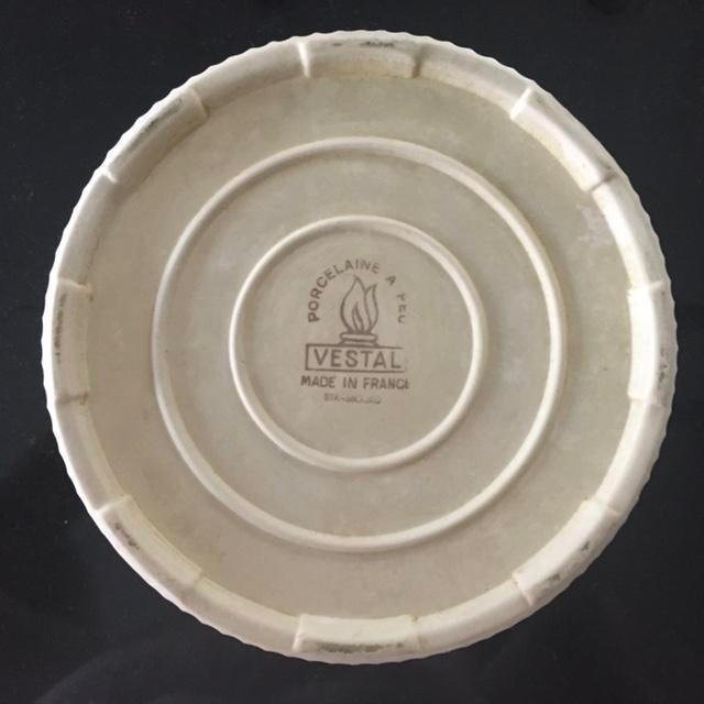 Vestal Porcelain Souffle Bowl - Image 7 of 7