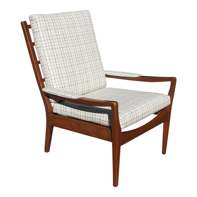 MidCentury Modern Upholstered Armchair By Paoli Chair Co Chairish - Paoli furniture