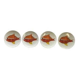 Mikasa Mid-Century Dessert Plates - Set of 4
