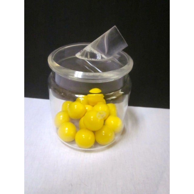 Modern Pyrex Jar with Lucite Thorpe Lid - Image 5 of 7