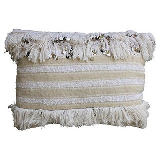 Berber Wedding Pillow With Sequins