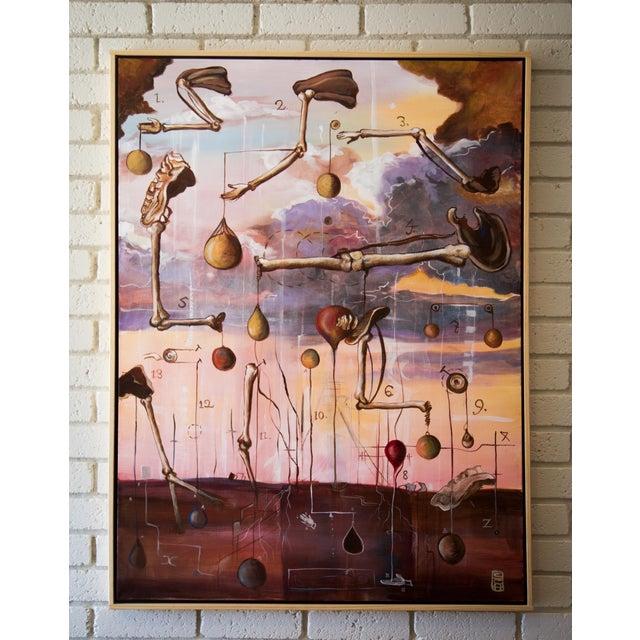 "Scott Henderson ""Tabula Tertia"" Painting - Image 2 of 4"