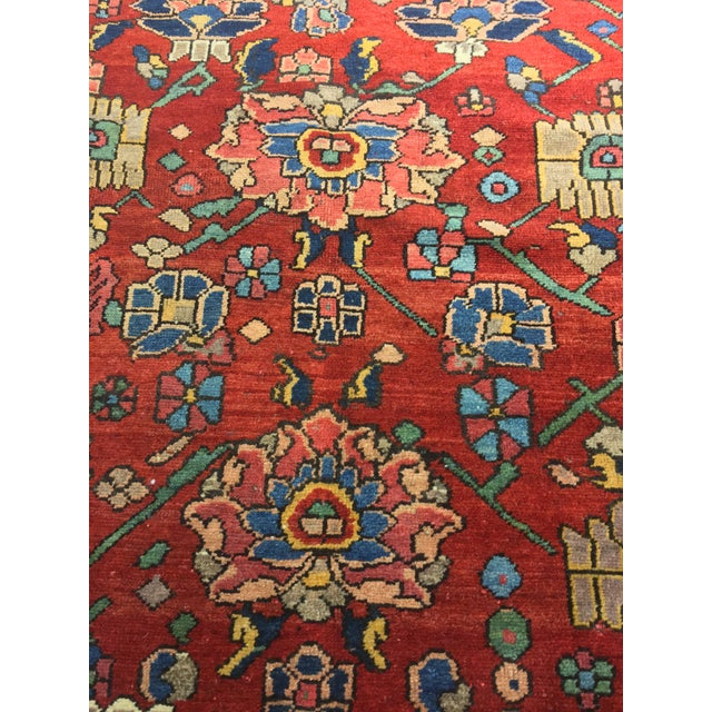 "Vintage Bellwether Rugs Persian Bactiari Area Rug - 6'9""x10'2"" - Image 8 of 11"