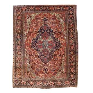 Dramatic Fereghan Sarouk Carpet