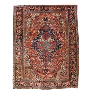 Dramatic Fereghan Sarouk Carpet