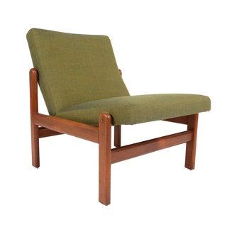 Fdb Møbler Teak Slipper Chair by Jorgen Baekmark