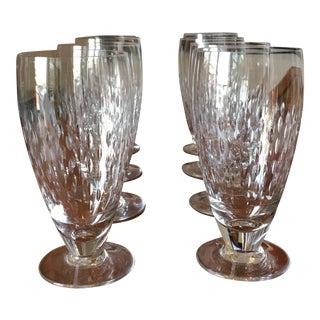 Baccarat Crystal Glasses - Set of 8