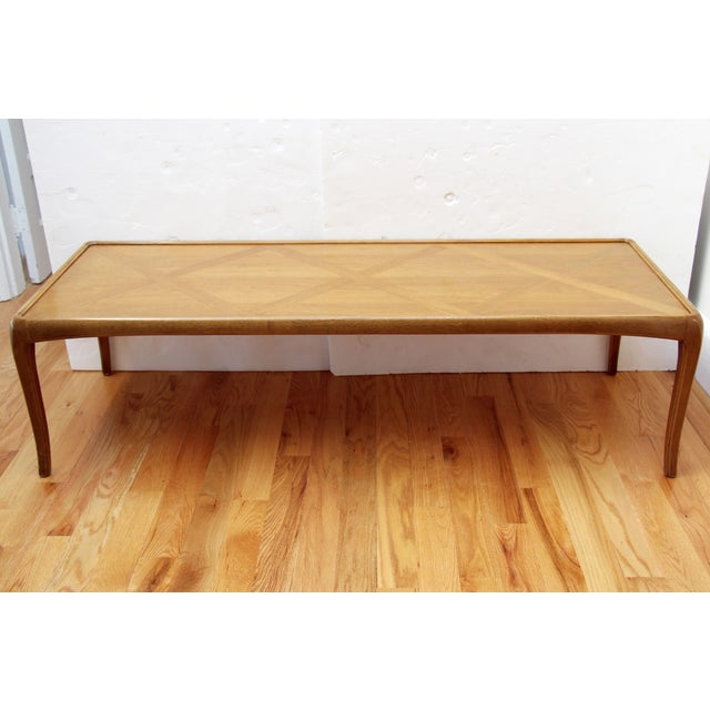 Mid-Century Thomasville Walnut Coffee Table - Image 4 of 9