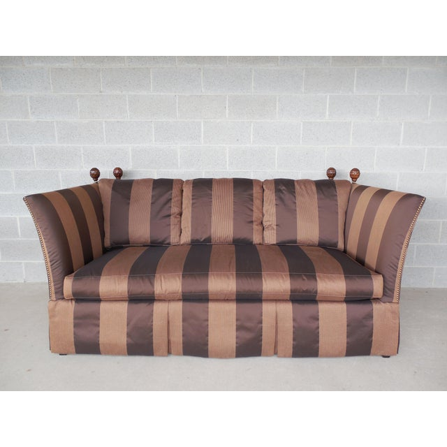 "SHERRILL Knole Sofa 84""W - Image 9 of 10"