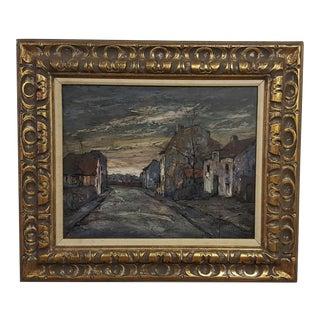 C. 1951 Jules Duffart Mid-Century Original Oil Painting