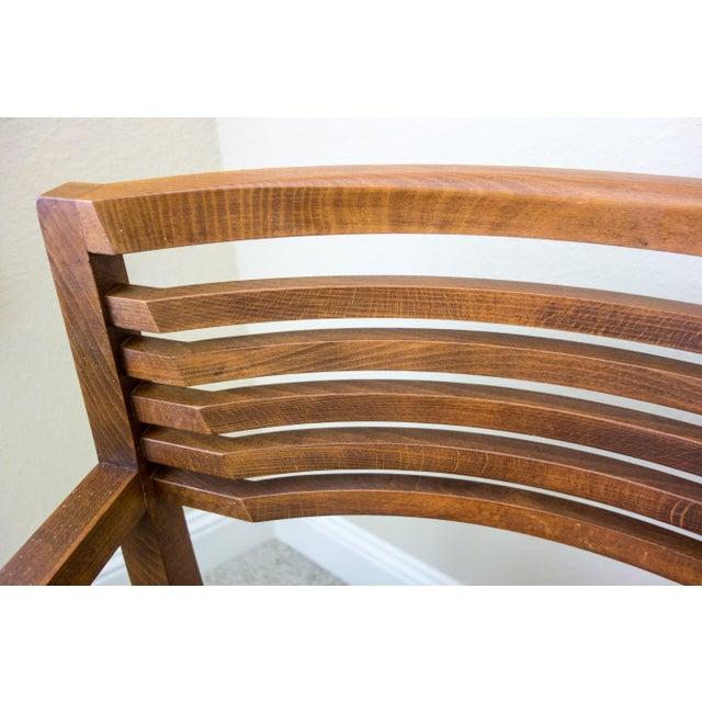 Knoll Vintage Ricchio Walnut Chair - Image 4 of 8