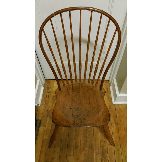 18th Century Ebenezer Tracy Windsor Chair - Image 2 of 8