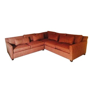 Huntington House Red Sectional Sofa