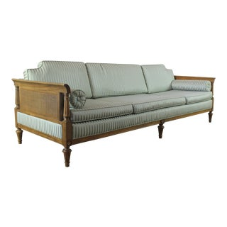 Vintage Hollywood Regency Neoclassical Sofa