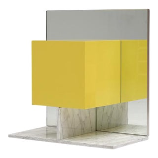 Pieter de bruyne mirror cabinet with marble base 1974