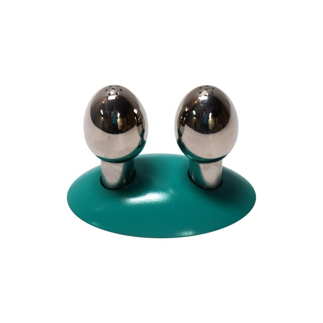 Alessi salt and pepper set chairish for Alessi salt and pepper shakers