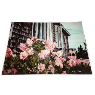 Maine Hydrangea Print