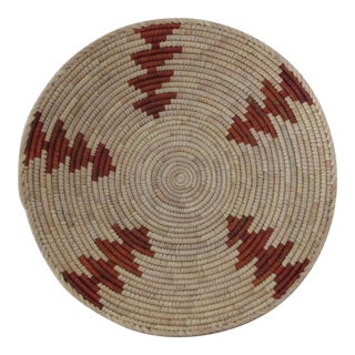 Native American Style Red Arrow Basket