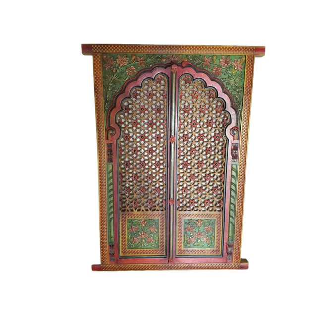 Image of Jharokha Hand-Carved Window Frame