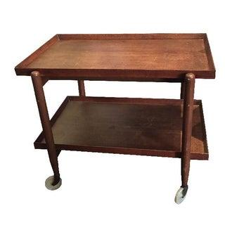 Mid-Century Danish Modern Teak Tea/Bar Cart