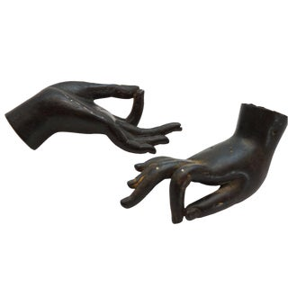 Bronze Asian Hands