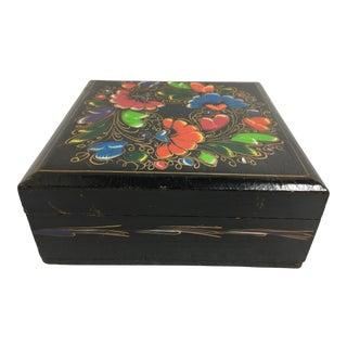 Polychrome Wood Box
