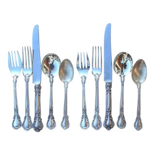 Gorham Chantilly Pattern Silverware - 10 Pieces