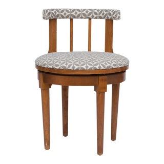 Midcentury Vanity Swivel Chair