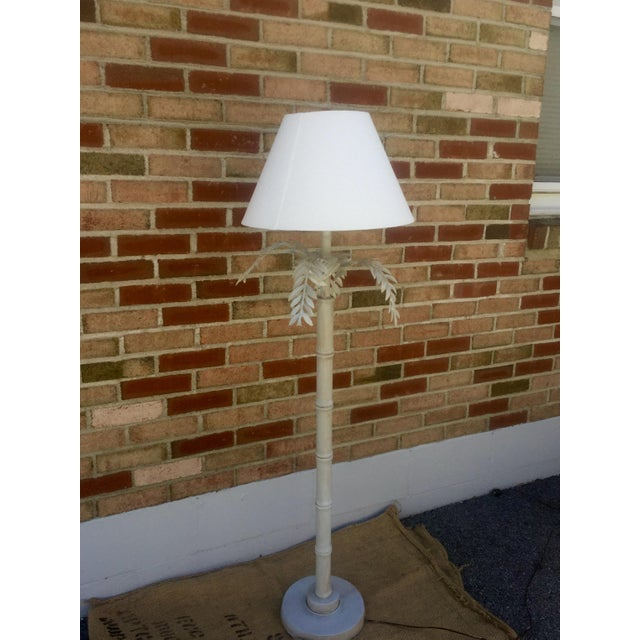 1930s Dripping Fern & Bamboo Lamp - Image 3 of 5