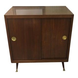 Mid-Century Record & Storage Cabinet