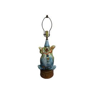Drip Glaze Clown Lamp