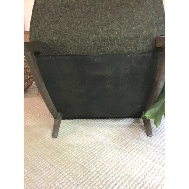 Mid-Century Modern Upholstered Lounge Chair - Image 9 of 9