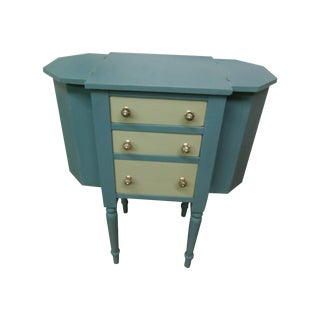 Vintage Sewing Cabinet Table