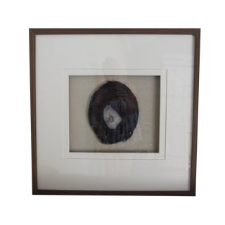 Driftwood Framed Natural Agate Slice