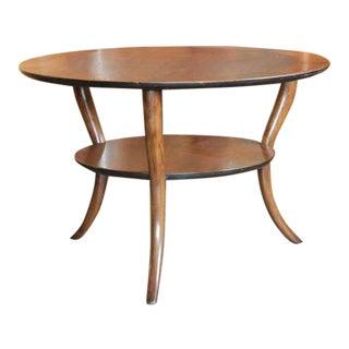 Saber Leg Table by T.H. Robsjohn-Gibbings