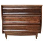 Image of Vintage Mid Century 3 Drawer Dresser by United